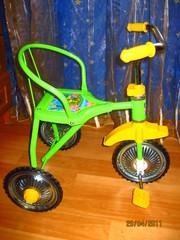 Новые! Детские велосипеды с ручкой-толкателем, козырьком от 105гр до 54