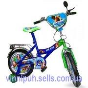 Недорого детские 2-х колесные детские 16 дюймовые велосипеды (Disney)