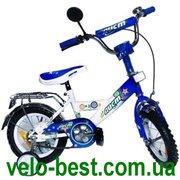 Аист - детский 12 дюймовый двухколесный велосипед