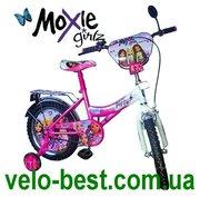Мокси - детский 12 дюймовый двухколесный велосипед