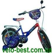 Продам Герои - 18 дюймовый двухколесный детский велосипед Heroes Синий